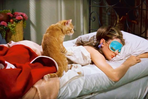 Breakfast at Tiffany's sleep